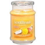 ScentBeads Wax Bead Jar Candle Coconut & Mango