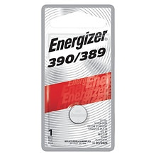 Energizer Watch/Electronic Silver Oxide Battery, 389