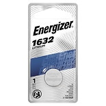 Energizer Watch/Electronic Lithium Battery 1632, 3V