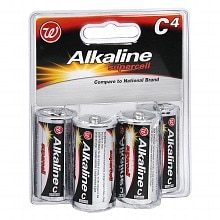 Alkaline Supercell Batteries, C
