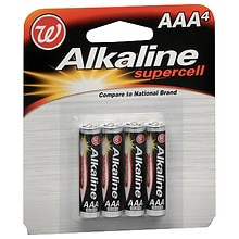 Alkaline Supercell Batteries AAA
