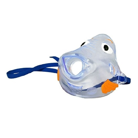 Pari Pediatric Nebulizer Aerosol Mask, Bubbles the Fish II