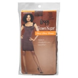 L'eggs Brown Sugar Regular Panty Sandalfoot Ultra Ultra Sheer Pantyhose Q Coffee