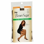 L'eggs Brown Sugar Regular Panty Sandalfoot Ultra Ultra Sheer Pantyhose Tall Coffee