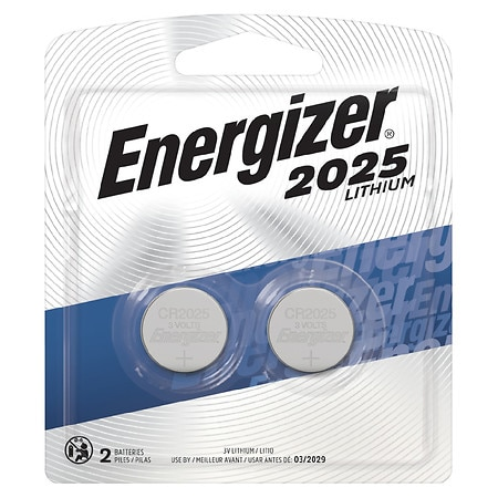 Energizer Watch/Electronic Lithium Batteries, 2025 CR2025