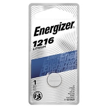 Energizer Watch/Electronic Lithium Battery 1216, 3V