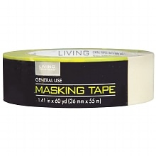 Living Solutions General Use Masking Tape 1.41 inch x 60 yards