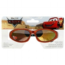 Plastic Disney Pixar Cars Sunglasses, Orange Frames