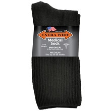 Medical Socks Mens, Black