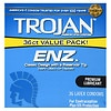Trojan-Enz Premium Lubricant Latex Condoms