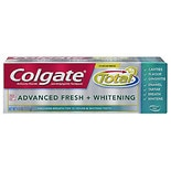 Colgate Total Advanced Fresh+Whitening Anticavity Fluoride and Antigingivitis Tthpst Gel