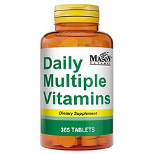 Mason Natural Daily Multiple Vitamins, Tablets