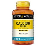 Mason Natural Natural Oyster Shell Calcium 500 with D3 400, Tablets