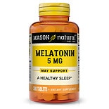 Mason Natural Melatonin 5 mg with Vitamin B-6, Tablets
