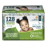 Seventh Generation Free & Clear Baby Wipes Refill