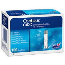 Bayer Contour Next Blood Glucose Test Strips