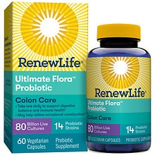 ReNew Life Ultimate Flora Critical Colon, Veggie Caps