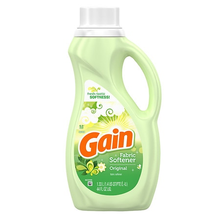 Gain Ultra Original Liquid Fabric Softener, 52 Loads Original