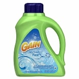Gain Liquid Detergent with Oxi Booster, 26 Loads Icy Fresh Fizz
