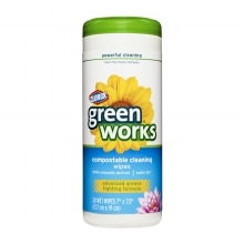 Clorox Green Works Compostable Cleaning Wipes Water Lily