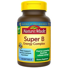 Super B Complex Full Strength Mini, Softgels