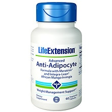 Life Extension Advanced Anti-Adipocyte Formula, Veggie Caps
