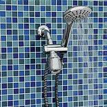 Lumex Deluxe Platinum Hand Held Shower Head, 80