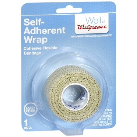 Walgreens Cohesive Bandage 1in x 5yd