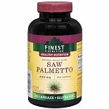 Finest Nutrition Saw Palmetto 450mg, Capsules