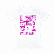 Taylor Swift White Squares Tee