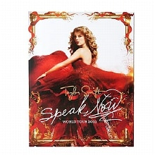 Taylor Swift Speak Now Tour Book