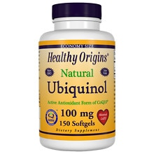 Healthy Origins Ubiquinol 100 mg, Softgels