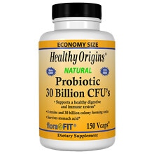 Healthy Origins Probiotic 30 Billion CFU's, Veggie Capsules