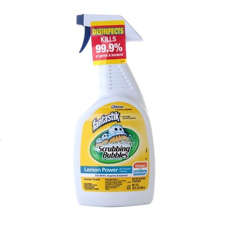 Fantastik Scrubbing Bubbles Cleaner Lemon