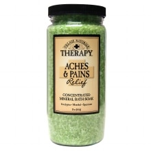 Village Naturals Therapy Aches & Pains Relief Mineral Bath Soak Mineral Bath Soak