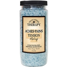 Village Naturals Therapy Stress & Tension Relief Mineral Bath Soak Mineral Bath Soak