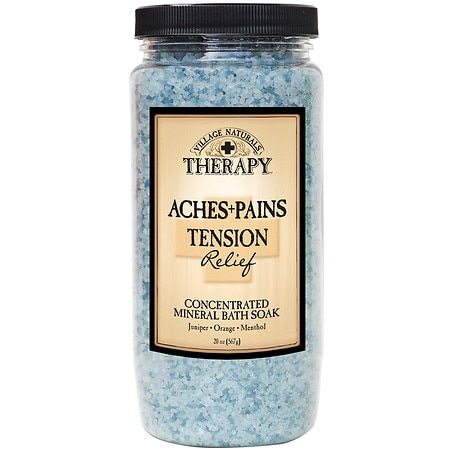 Village Naturals Therapy Mineral Bath Soak Stress & Tension Relief