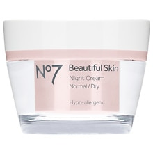 Boots No7 Beautiful Skin Night Cream,  Normal / Dry