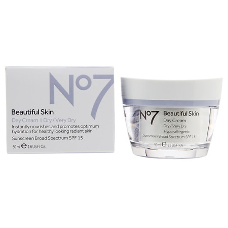 Boots No7 Beautiful Skin Day Cream, Dry / Very Dry