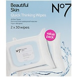 Boots No7 Quick Thinking Wipes - Value Pack