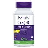 Natrol CoQ10 100 mg, Fast Dissolve, Tablets Cherry