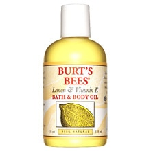 Bath & Body Oil with Lemon & Vitamin E, Lemon & Vitamin E