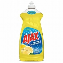 Ajax Super Degreaser Dish Liquid Soap Lemon