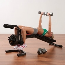 Pure Fitness FID Bench Flat, Incline, Decline