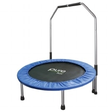 Pure Fun Mini Trampoline with Hand Rail, 40 inch
