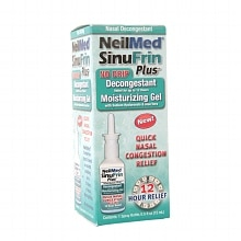 NeilMed SinuFrin Plus No Drip Decongestant Moisturizing Gel