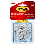 Command Clear Hooks, Holds 0.5 lbs