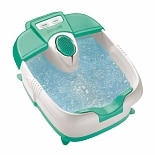 True Massaging Foot Bath with Bubbles & Heat FB30