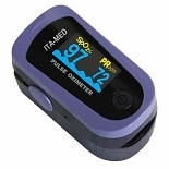 ITA-MED Fingertip Deluxe Pulse Oximeter with 6-way OLED display