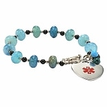Hope Paige Beaded Pull Style - Aquamarine